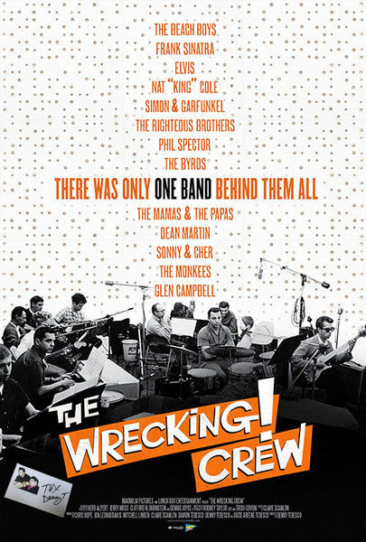 Wrecking Crew Theater Memorabilia  (Theater poster size 27X40)