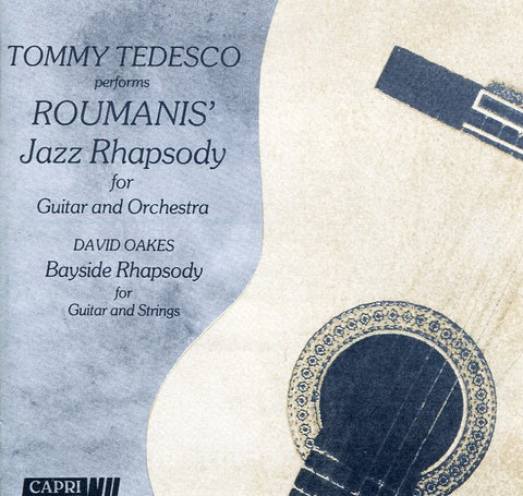 Tommy Tedesco performs Roumanis Jazz Rhapsody for Guitar and Orchestra