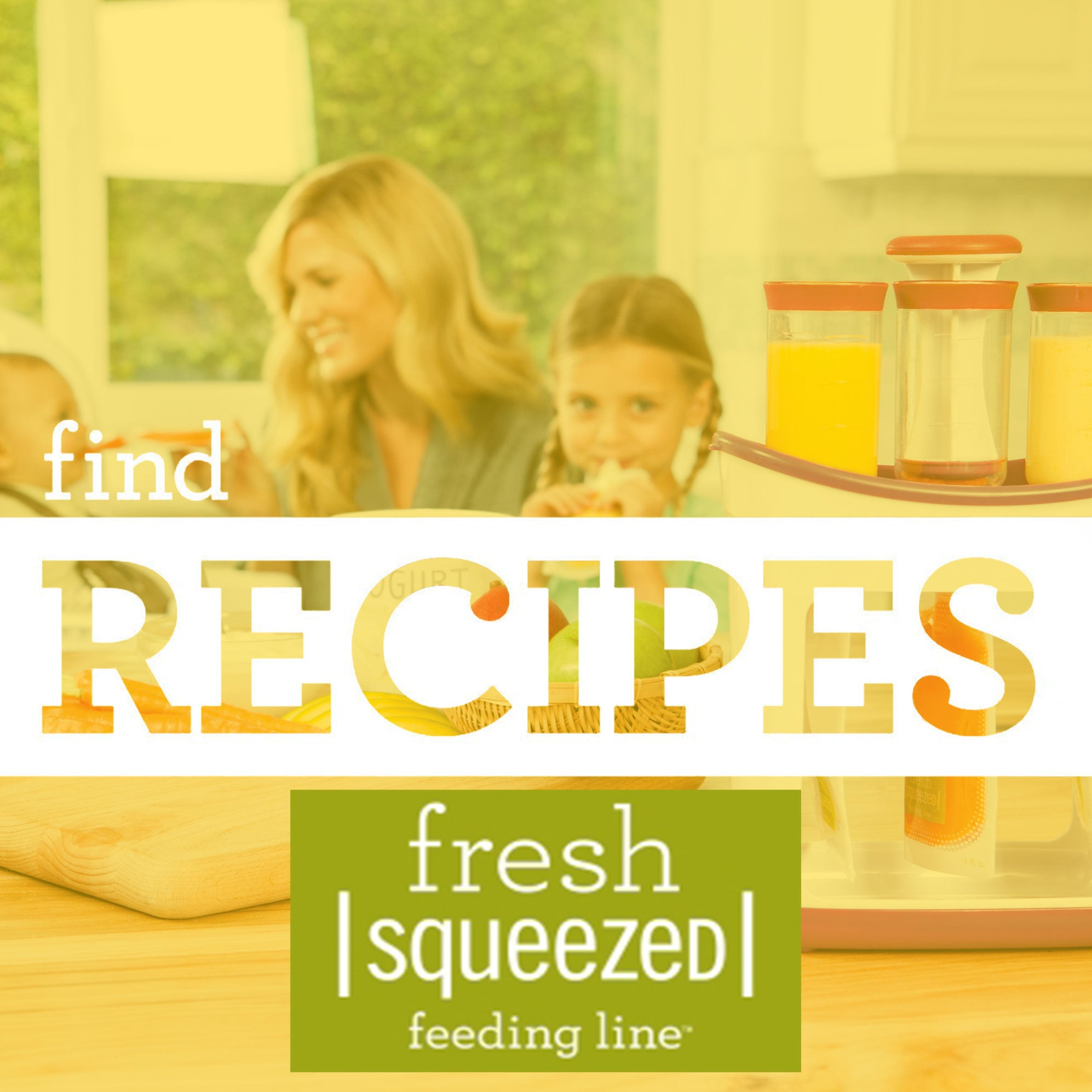 Find Fresh Recipes for Fresh Squeezed