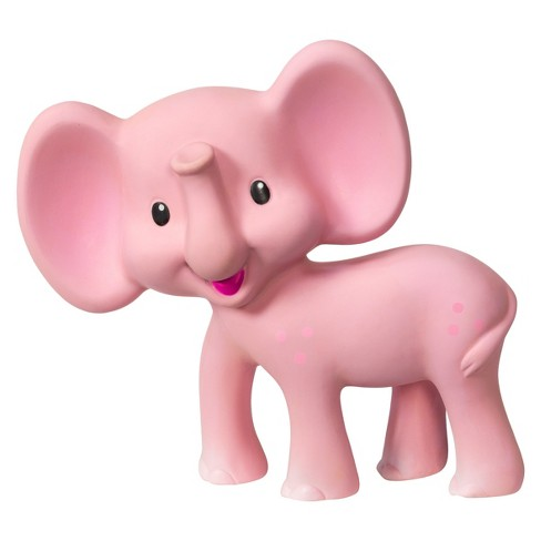 Squeeze & Teethe Elephant™ Pink