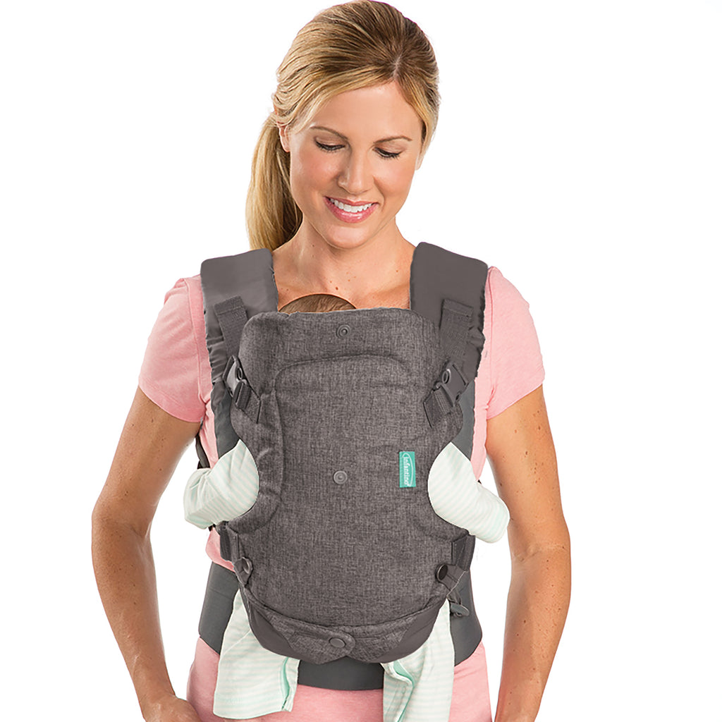 b809e2d35b7 Flip 4-in-1 Convertible Baby Carrier – Infantino