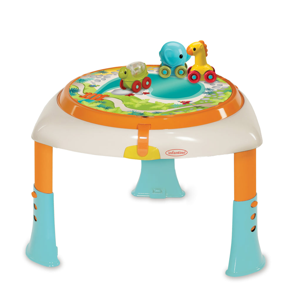 Sit Spin Stand Entertainer 360 Seat Activity Table Go Gaga