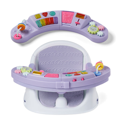 Music & Lights 3-in-1 Discovery Seat & Booster-Lavender