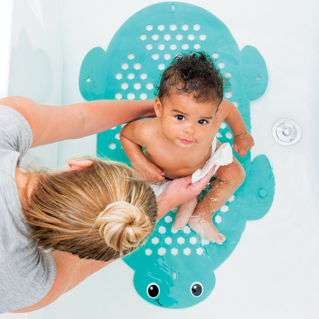 2-In-1 Bath Mat & Storage Basket™ Turtle – Infantino