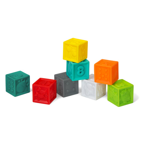 Squeeze & Stack Block Set™ - 8 piece set
