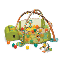 Grow-With-Me Activity Gym & Shape Sorting Ball Pit™