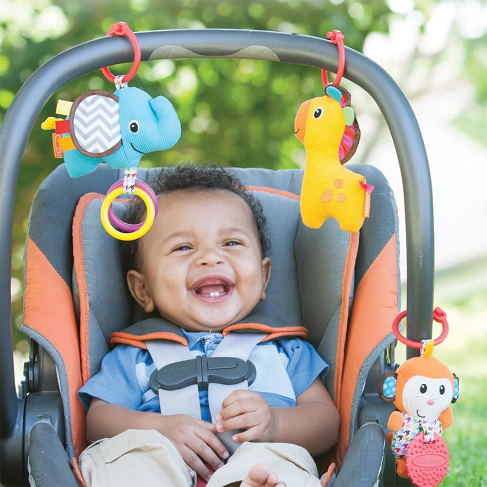 Tag Along Travel PalTM Stroller And Car Seat Toys Infantino