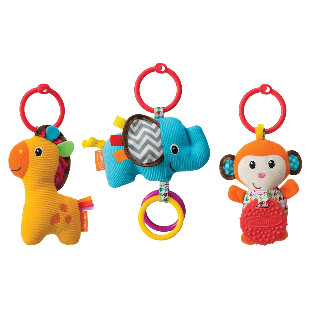 Infantino Tag Along Travel Pals 100% High Quality Materials Baby