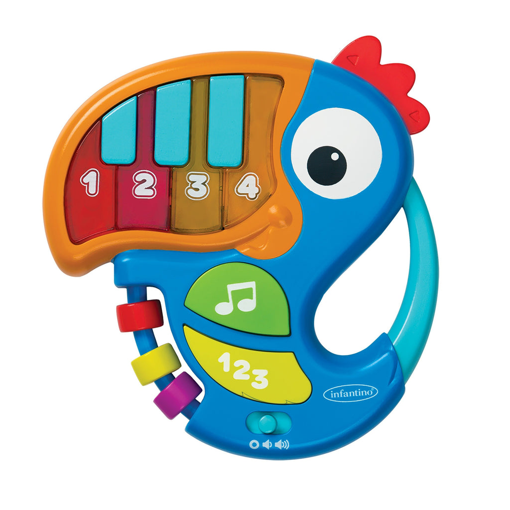 Piano & Numbers Learning Toucan™ Blue