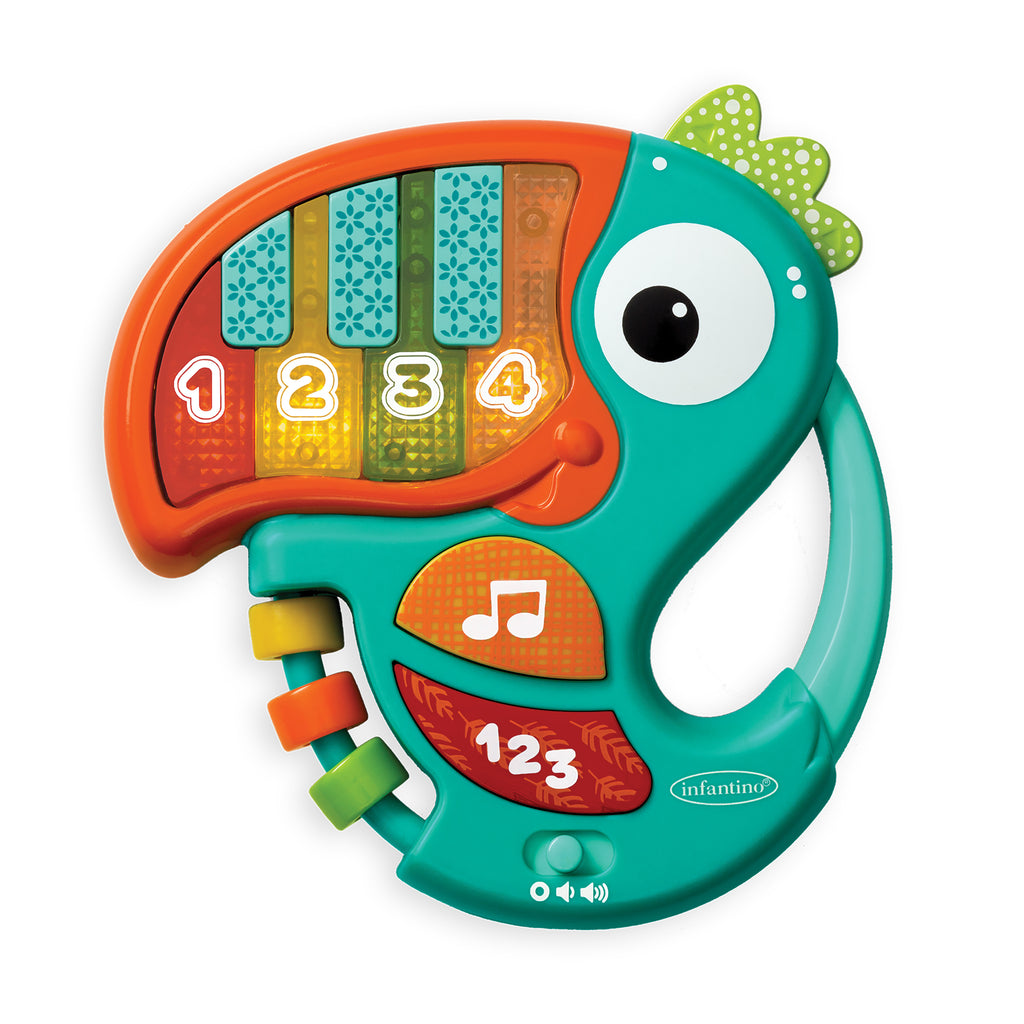 Piano & Numbers Learning Toucan™ Teal