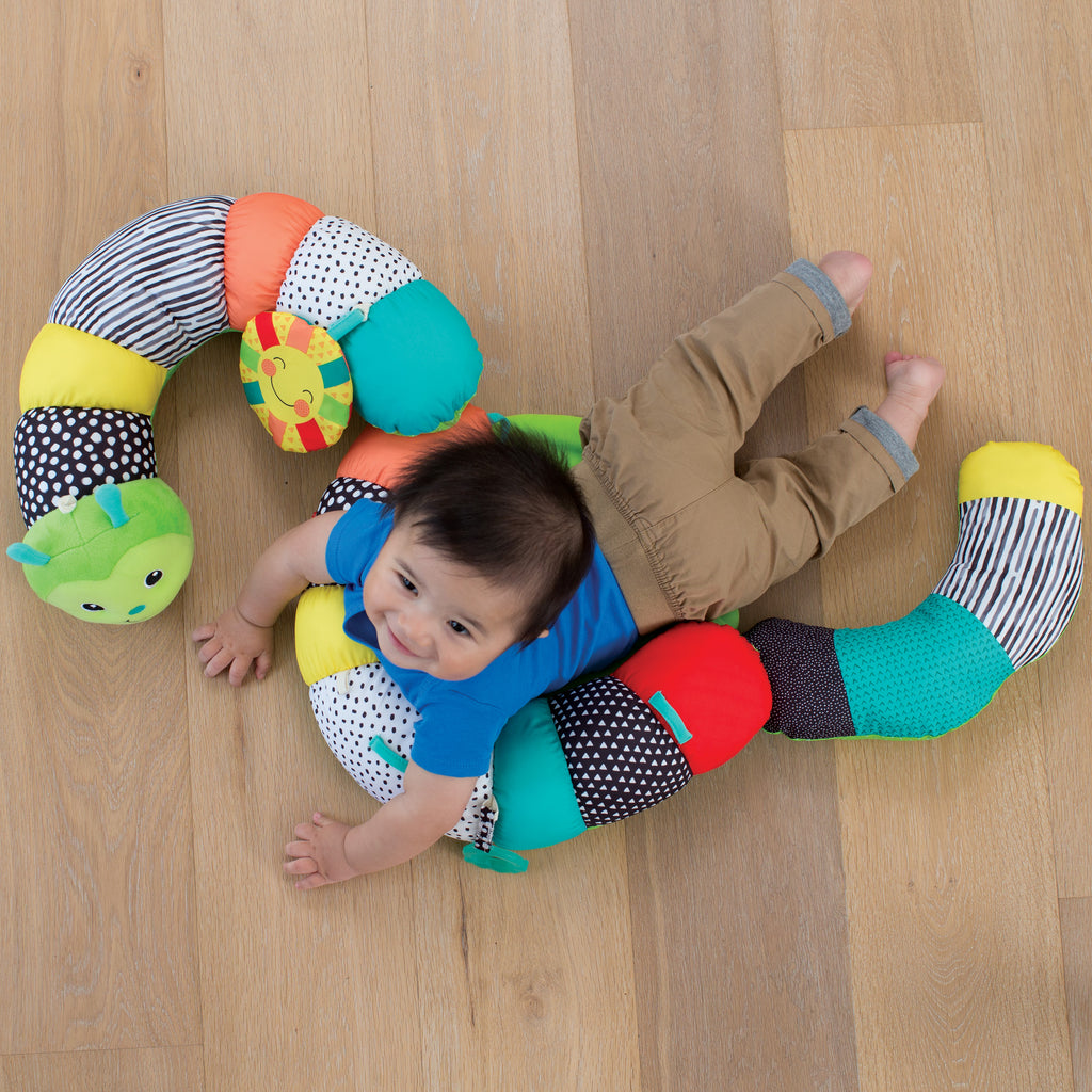 Prop-A-Pillar Tummy Time & Seated Support™ Green – Infantino