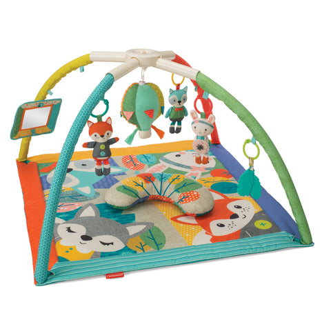 Deluxe Twist & Fold Activity Gym & Play Mat™ Forest
