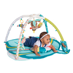 Deluxe Twist & Fold Activity Gym & Play Mat™ Tropical