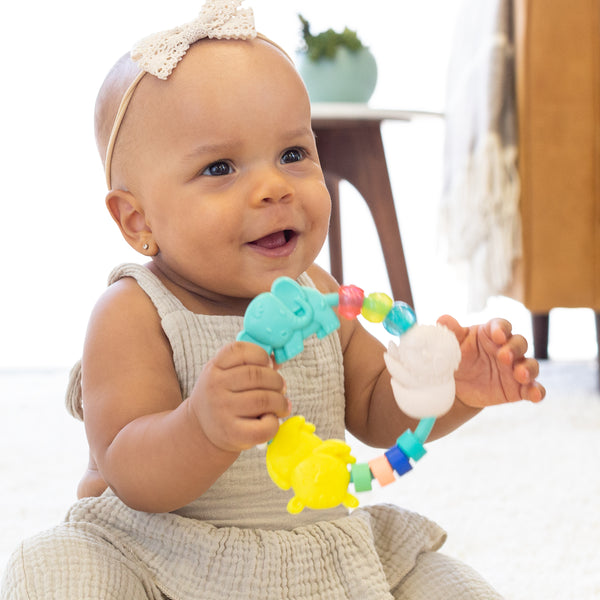 Busy Beads Rattle & Teether™ - Infantino
