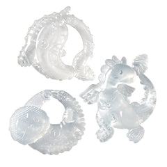 Crystal Clear 3 Piece Stage Teether Set™