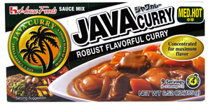 JAVA CURRY SAUCE MIX MEDIUM HOT