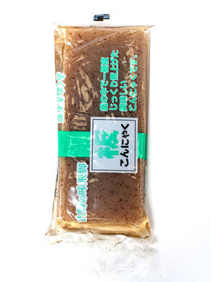 KONNYAKU BAR (YAM POTATO BLACK)