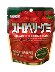 Gluten Free Strawberry Gummy