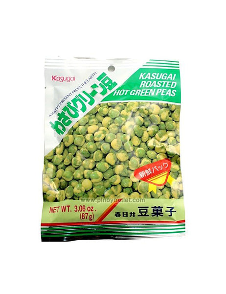 ROASTED HOT WASABI GREEN PEAS  わさびグリーン豆  87g