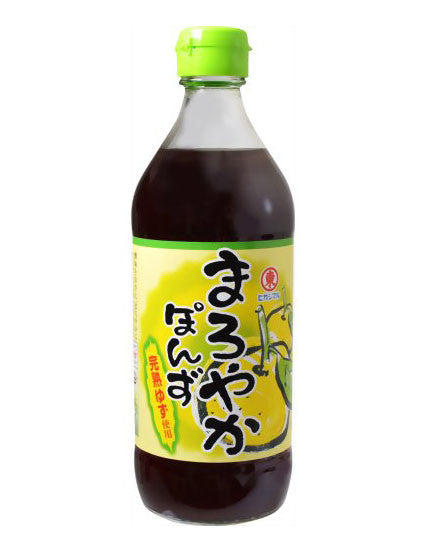 MELLOW PONZU (YUZU SEASONED SOY SAUCE)  まろやかポン酢  500ml