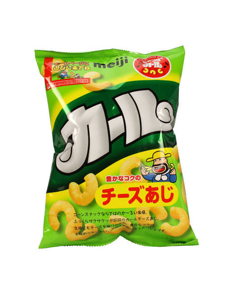 KARL CHEESE (CORN PUFF SNACK)  カール チーズ  72g