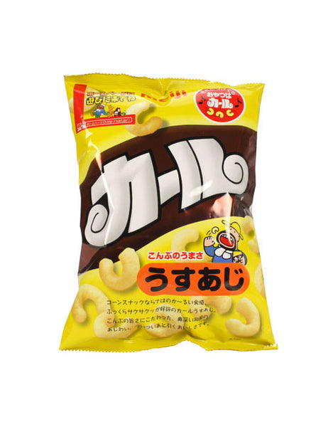 KARL LIGHTY SALTED (CORN PUFF SNACK)  カール うすあじ  75g