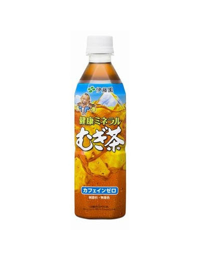 BARLEY TEA WITH NATURAL MINERALS  健康ミネラル麦茶  500 ml