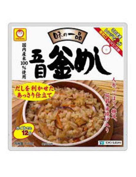 AJINO IPPIN VEGETABLE SEASONED POT RICE  味の一品 五目釜めし  170g