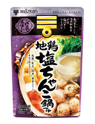 CHICKEN SALT CHANKO POD BASE  地鶏塩ちゃんこ鍋つゆ  750g