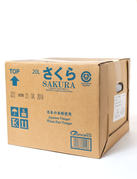 SAKURA ( DISTILLED VINEGAR )  さくら (国産)  20L