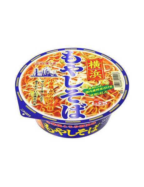 NEW TOUCH YOKOHAMA SPROUT SOBA  ニュータッチ 横浜もやしそば  95g