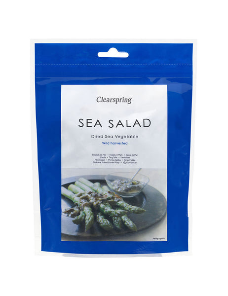 SEA VEGETABLE SALAD (DULSE, SEA LETTUCE, NORI)  海藻サラダ  50g