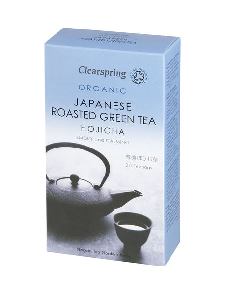 ORGANIC HOJICHA(ROASTED GREEN TEA) - TEA BAGS  有機ほうじ茶 ティーバッグ  20bags 40g