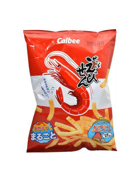 KAPPA EBISEN (SHRIMP FLAVOURED SNACK)  かっぱえびせん  90g