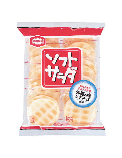 SOFT SALAD RICE CRACKER  ソフトサラダ  155g