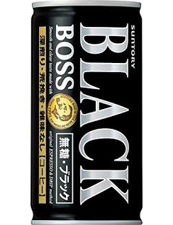 BOSS BLACK COFFEE  ボス ブラック   185g