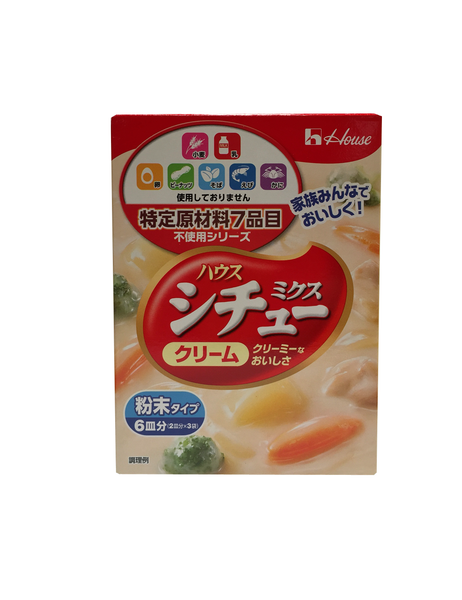 CREAM STEW SAUCE MIX  シチューミックス<クリーム>  3pcs 105g