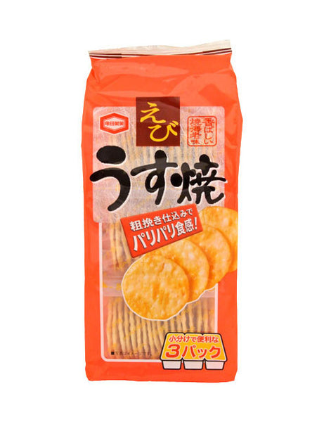 USU YAKI SHRIMP (RICE CRACKER)   えびうす焼き  85g
