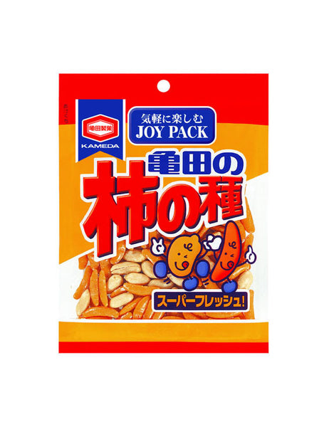 KAKI NO TANE SPICY RICE CRACKERS JOY PACK  柿の種 ジョイパック  110g