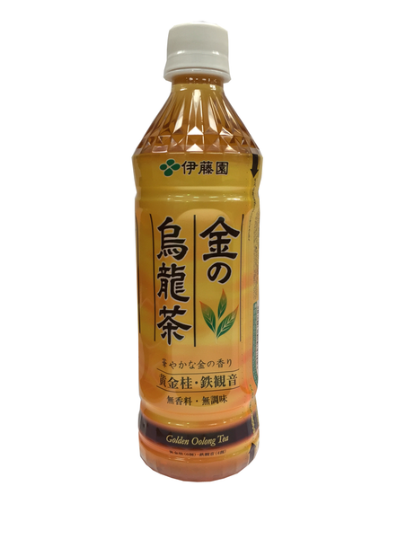 GOLDEN OOLONG TEA  金の烏龍茶  500ml