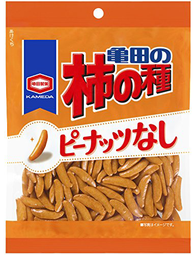 KAKI NO TANE SPICY RICE CRACKERS WITHOUT NUTS  柿の種 ナッツ抜き  130g