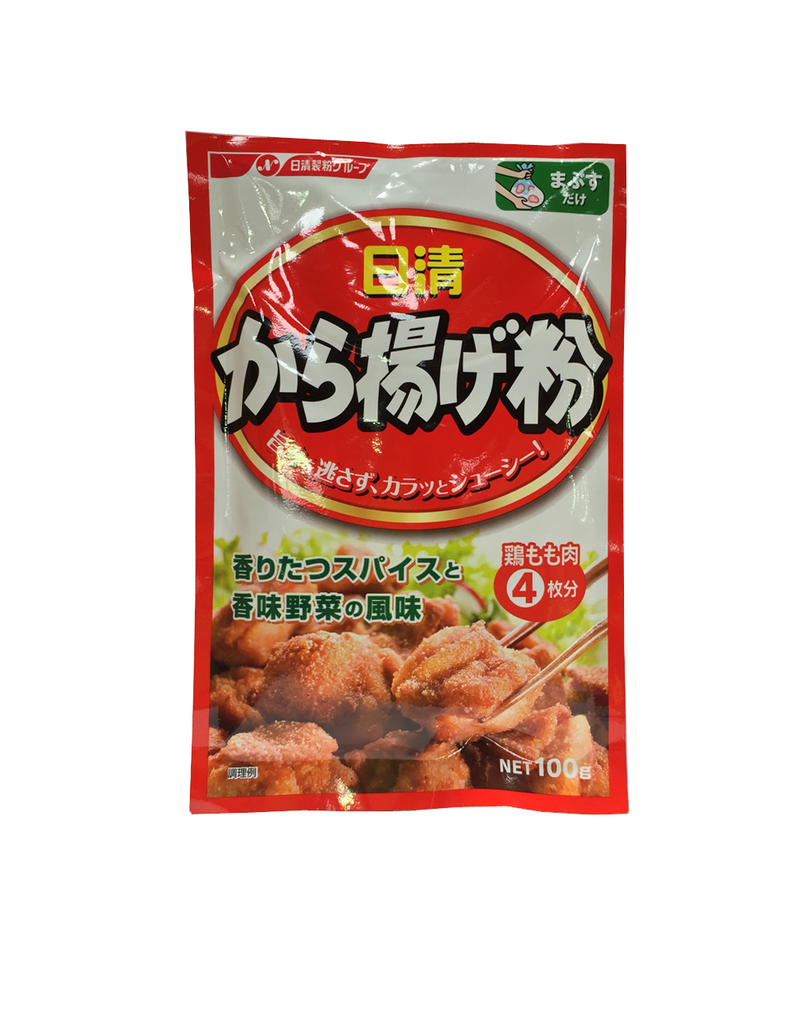 SEASONED FLOUR FOR FRIED CHICKENS  から揚げ粉  100g