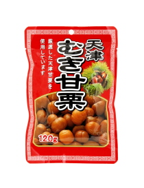 SWEET ROASTED CHESTNUTS  むき甘栗  120g