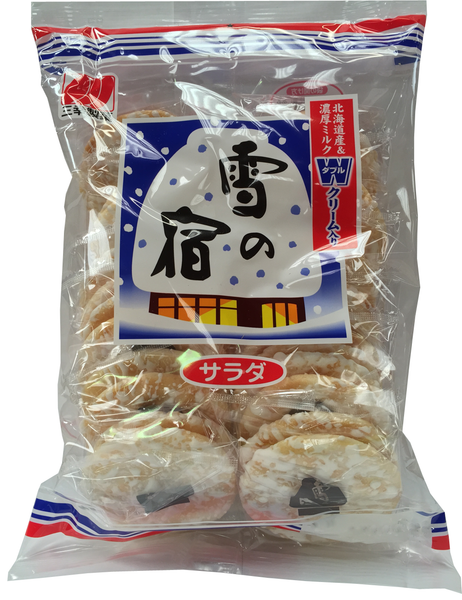 YUKI NO YADO RICE CRACKERS  雪の宿  24pcs