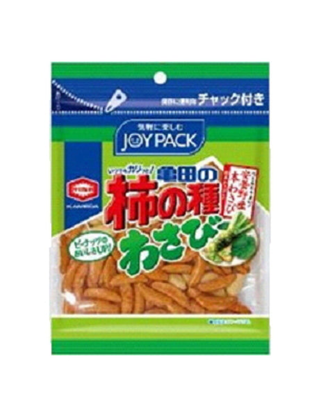 KAKI NO TANE SPICY RICE CRACKERS SUPER FRESH WASABI  83g