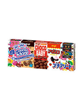 ASSORTED PETIT CHOCOLATE BOXES  プチアソート  52g