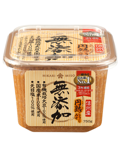 NATURAL RED MISO  無添加円熟こうじ味噌  750g