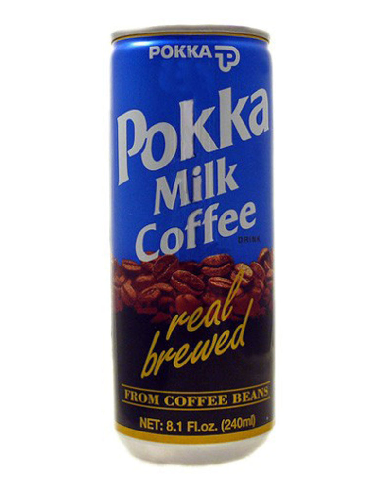 Pokka Milk Coffee, Japanese Coffee Drink, 240ml
