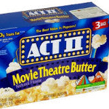 ACT II Movie Theater Butter Popcorn