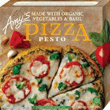 Amy's Organic Vegetables & Basil Pizza - Pesto